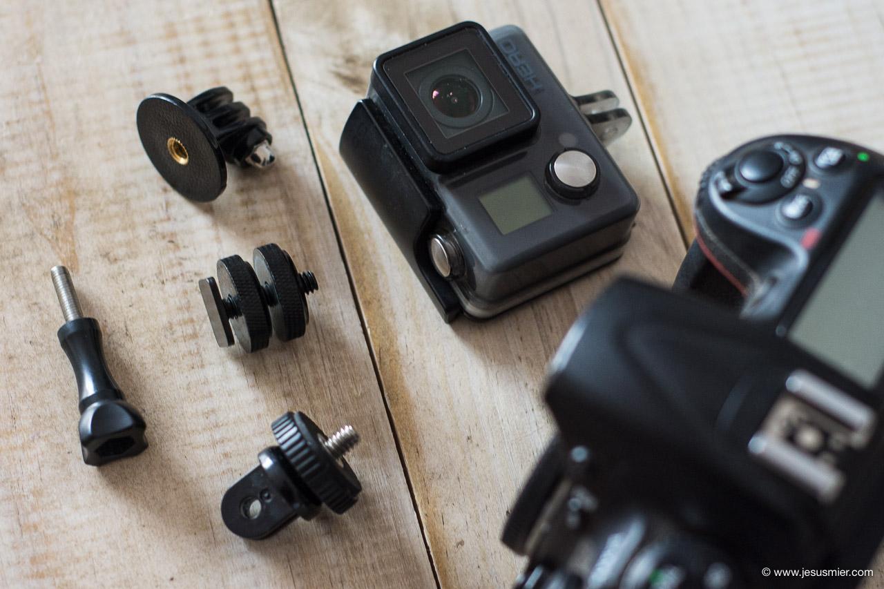 Varios Accesorios GoPro para fotografos