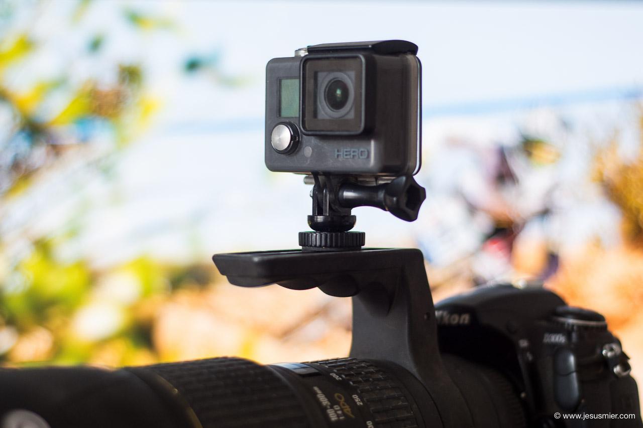 Adaptador / Soporte de trípode para GoPro