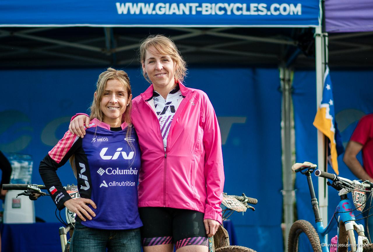 Chichi Garcia y  Cata Flaño, KTM Mtb La Vacada 2016. Foto: Jesu