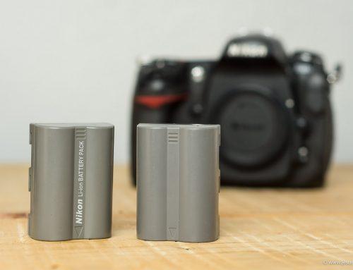 Las baterías de la cámara. Clónicas vs Originales. Experiencias y Recomendaciones