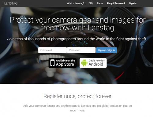 Recupera tu equipo fotográfico robado con Lenstag