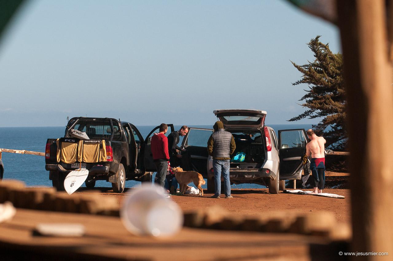 Surf Trip por Chile Marzo 2013. Crew Foto: Jesus Mier