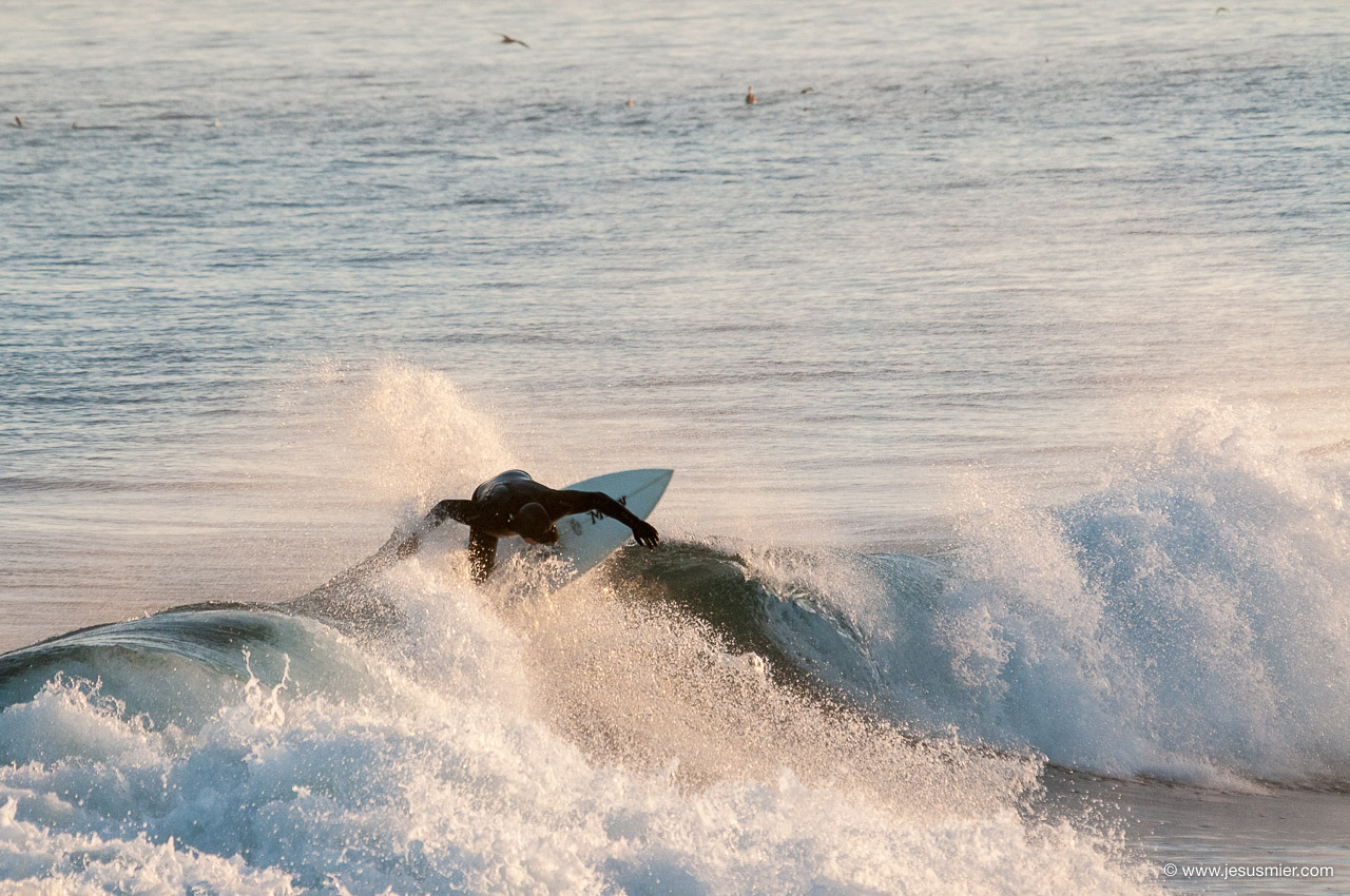 Surf Trip por Chile Marzo 2013. Sesion mañanera Foto: Jesus Mier