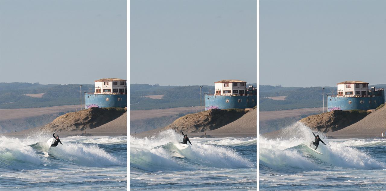 Surf Trip por Chile Marzo 2013. En algun lugar al sur de Chile. Secuencia Surfer. Foto: Jesus Mier
