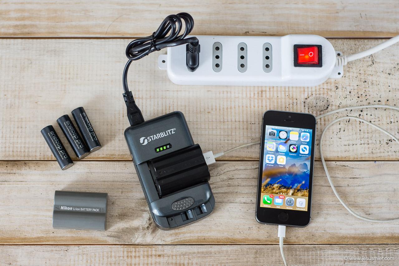 Cargador de baterias universal Starblitz
