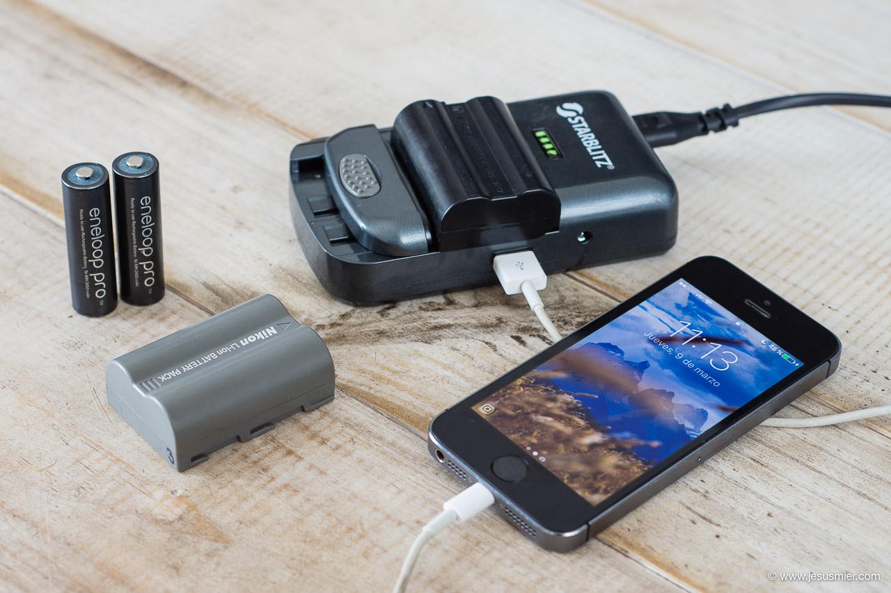 Probando el cargador de baterías universal Starblitz Sch20, Review – opinión