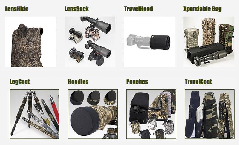 accesorios lenscoat para el fotografo de naturaleza