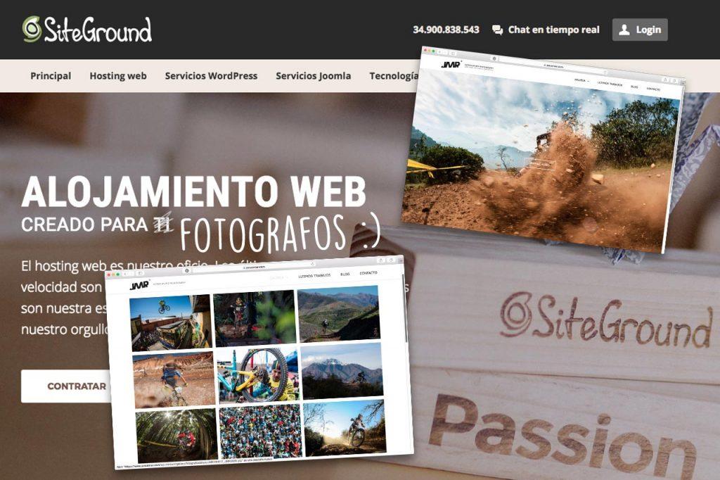 El mejor hosting para fotografos