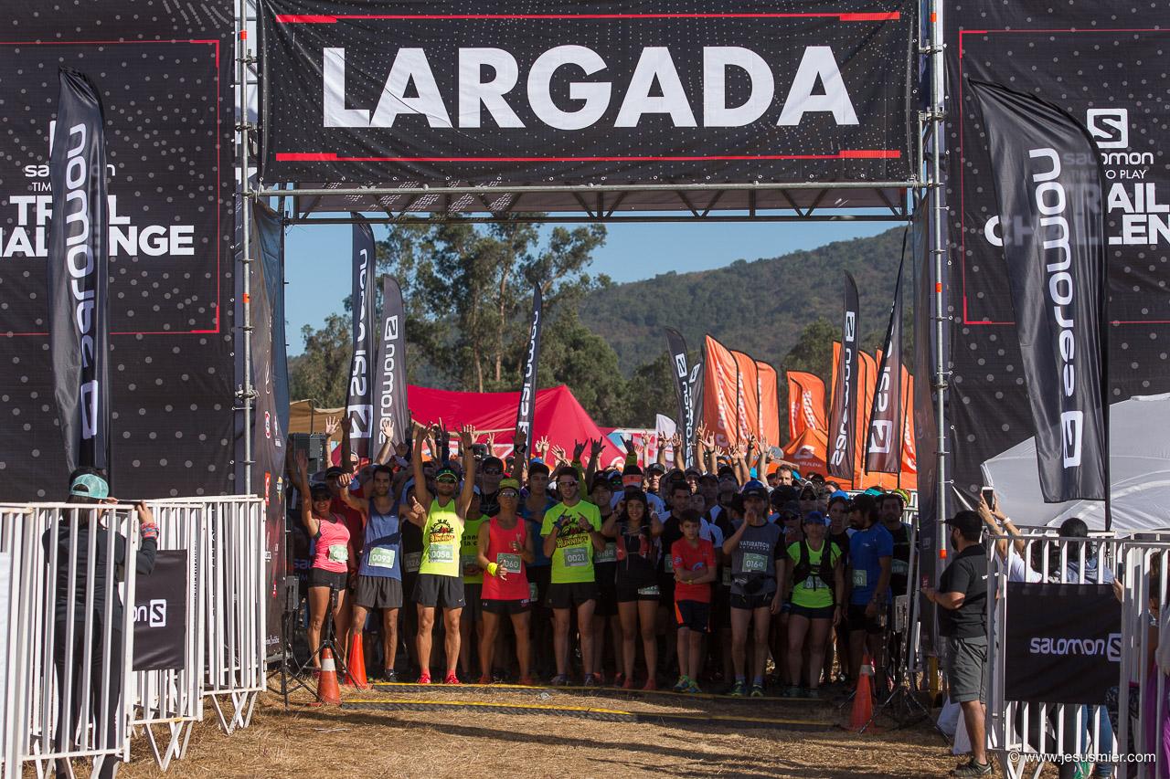 Salomon Trail Challenge 2018, Partida. Foto: Jesus Mier