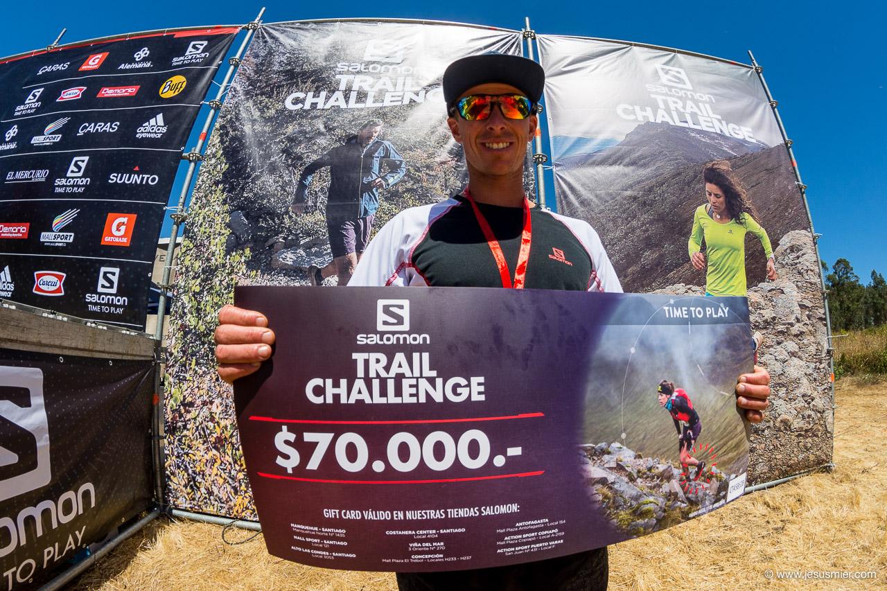 Ganador Salomon Trail Challenge 2018. Foto: Jesus Mier