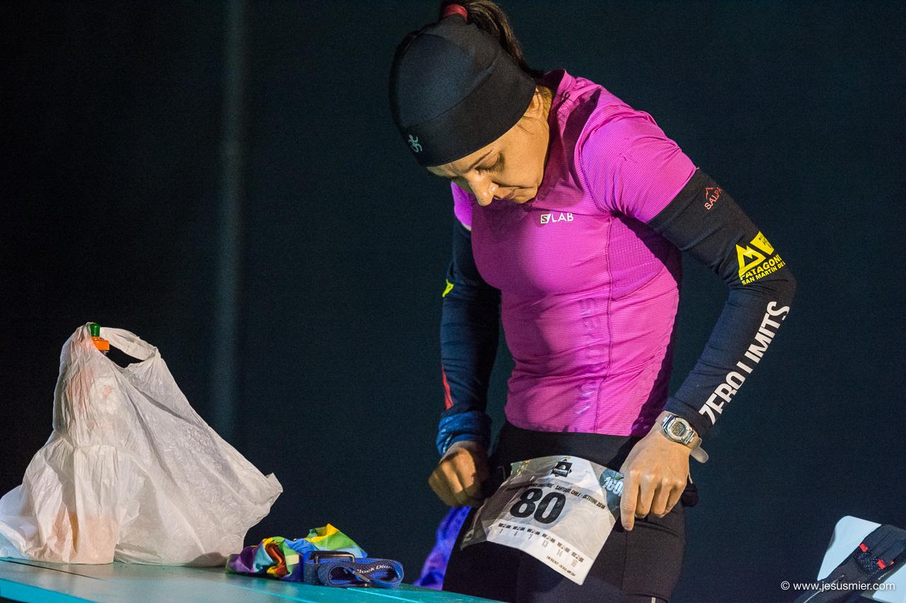 Eliana Mariel Marinero, Endurance Challenge 2018. Foto: Jesus Mier