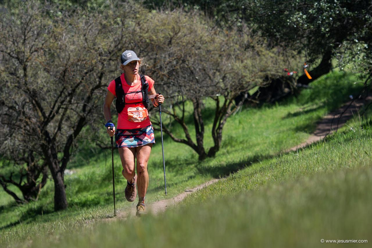 Hillary Allen, Endurance Challenge 2018. Foto: Jesus Mier