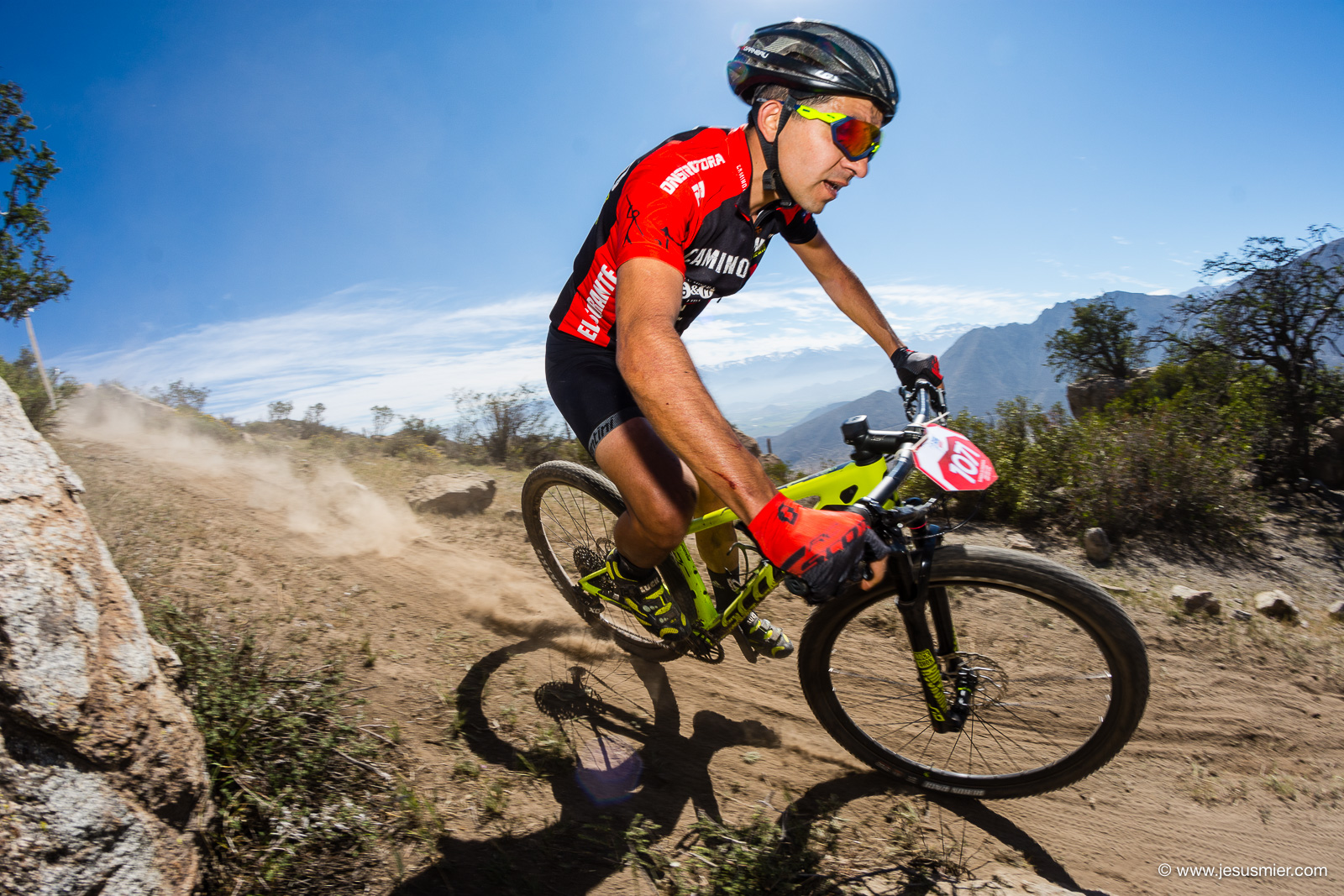 uzuki Mountainbike Tour 2018, Los Andes. Foto: Jesus Mier