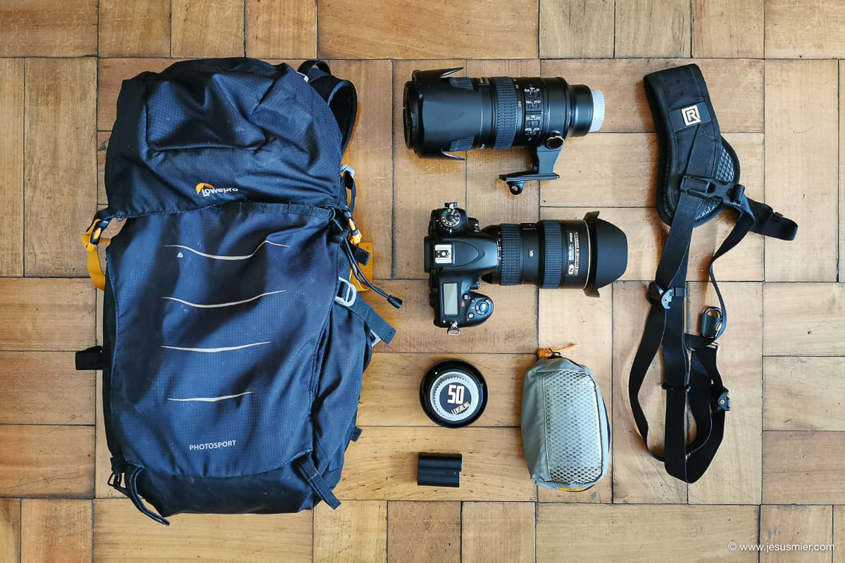 equipo fotografico fotografo deportivo jesusmier Lowepro PhotoSport 2019-2020